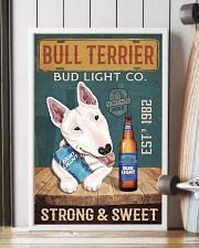 Bull Terrier Dog Bud Light Company 1902-01-VT 24x36 Poster lifestyle-poster-4