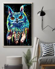 beautiful owl LIMITED EDITION 24x36 Poster lifestyle-poster-1