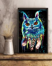 beautiful owl LIMITED EDITION 24x36 Poster lifestyle-poster-3