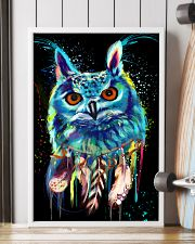 beautiful owl LIMITED EDITION 24x36 Poster lifestyle-poster-4