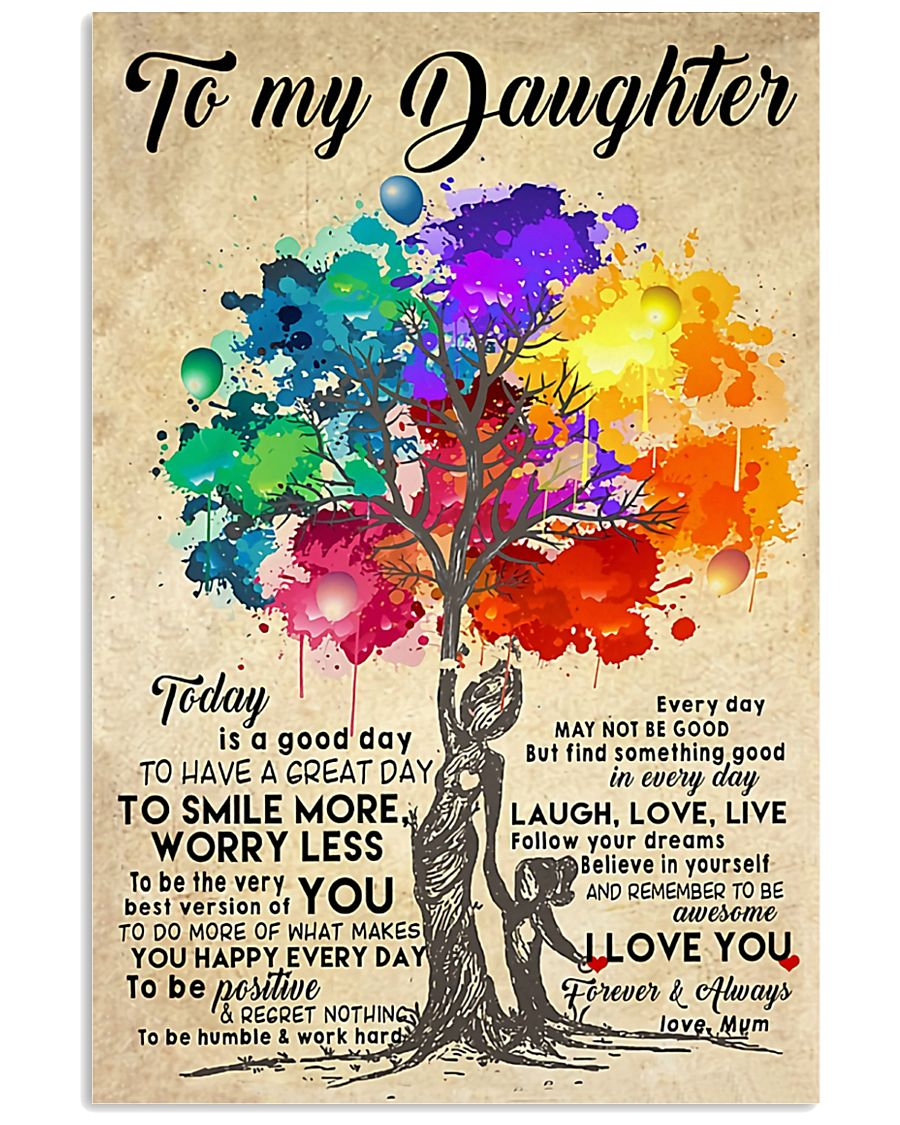 To My Daughter Poster 22-04 TNT 24x36 Poster