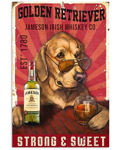 Golden Retriever Jameson Irish Whiskey 21-2 TNT