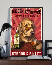 Golden Retriever Jameson Irish Whiskey 21-2 TNT 11x17 Poster lifestyle-poster-2