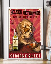 Golden Retriever Jameson Irish Whiskey 21-2 TNT 11x17 Poster lifestyle-poster-4