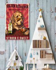 Golden Retriever Jameson Irish Whiskey 21-2 TNT 24x36 Poster lifestyle-holiday-poster-2