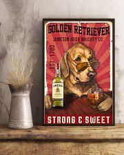 Golden Retriever Jameson Irish Whiskey 21-2 TNT 24x36 Poster lifestyle-poster-3