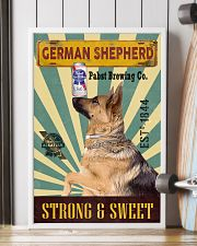 German Shepherd Dog pabst blue ribbon poster 20-02 24x36 Poster lifestyle-poster-4