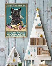 Retro Cat make cakes 24x36 Poster lifestyle-holiday-poster-2