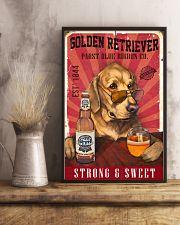 Golden Retriever Pabst Blue Ribbon 19-2 TNT 24x36 Poster lifestyle-poster-3