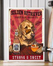 Golden Retriever Pabst Blue Ribbon 19-2 TNT 24x36 Poster lifestyle-poster-4