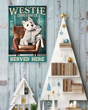 West Highland White Terrier Dog Coors Light1902TNT 24x36 Poster lifestyle-holiday-poster-2