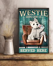 West Highland White Terrier Dog Coors Light1902TNT 24x36 Poster lifestyle-poster-3