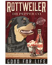 Rottweiler Dog Dr Pepper Poster 17-2- TNT 24x36 Poster front