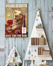 Golden Retriever Wine Company 2404 24x36 Poster lifestyle-holiday-poster-2