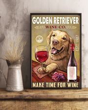 Golden Retriever Wine Company 2404 24x36 Poster lifestyle-poster-3
