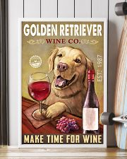 Golden Retriever Wine Company 2404 24x36 Poster lifestyle-poster-4