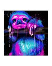 Poster Sloth Square Coaster thumbnail