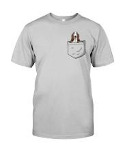 Pocket Basset Hound Classic T-Shirt front