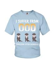 Obsessive Otter Disorder Youth T-Shirt thumbnail