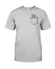 Pocket Elephant Classic T-Shirt front