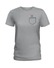 Pocket Elephant Ladies T-Shirt thumbnail