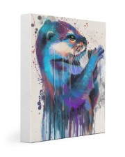 Otter Lovers 11x14 Gallery Wrapped Canvas Prints front