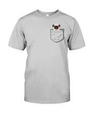 Pocket Pug Classic T-Shirt front