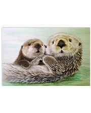 Poster Canvas Otter 17x11 Poster front