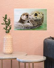 Poster Canvas Otter 17x11 Poster poster-landscape-17x11-lifestyle-21