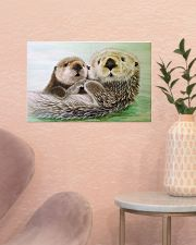 Poster Canvas Otter 17x11 Poster poster-landscape-17x11-lifestyle-22