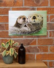 Poster Canvas Otter 17x11 Poster poster-landscape-17x11-lifestyle-23