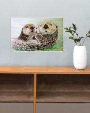 Poster Canvas Otter 17x11 Poster poster-landscape-17x11-lifestyle-24