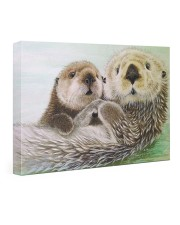 Poster Canvas Otter 24x16 Gallery Wrapped Canvas Prints thumbnail
