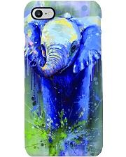 Poster Canvas Elephant Phone Case tile