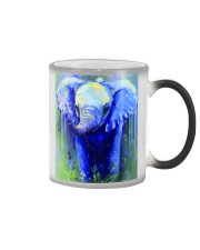 Poster Canvas Elephant Color Changing Mug thumbnail