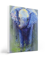Poster Canvas Elephant 16x20 Gallery Wrapped Canvas Prints thumbnail
