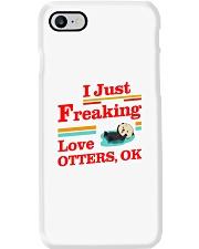 I Just Freaking Love Otters Ok Phone Case tile