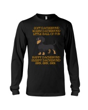 warm Dachshund Little Ball Of Fur Long Sleeve Tee thumbnail
