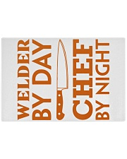 Welder by day Rectangle Cutting Board front