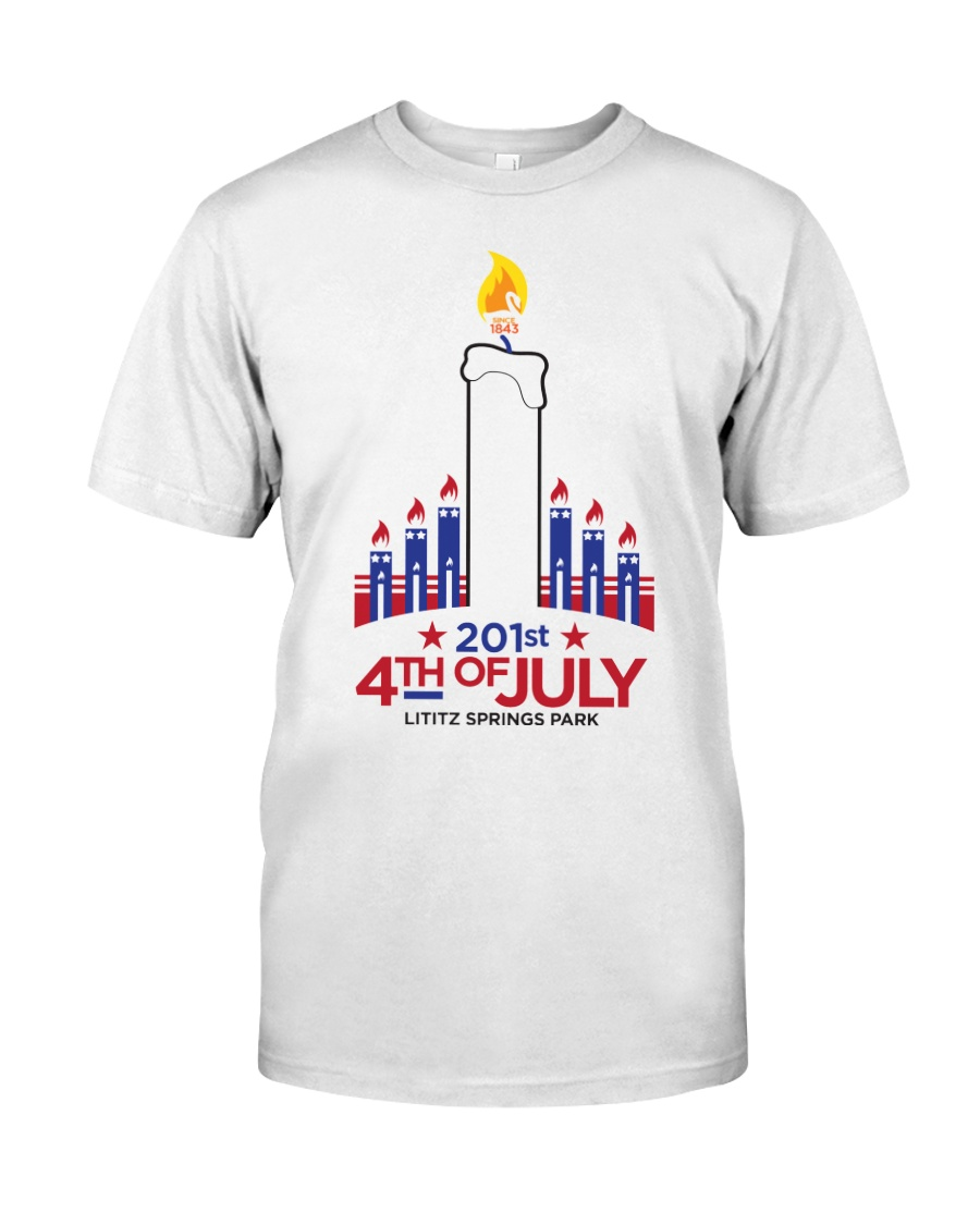 Lititz 201st 4th Of July Classic T-Shirt