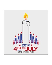 Lititz 201st 4th Of July Square Coaster thumbnail