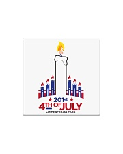 Lititz 201st 4th Of July Square Magnet thumbnail