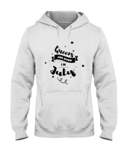 Queens Are Born In July Hooded Sweatshirt thumbnail