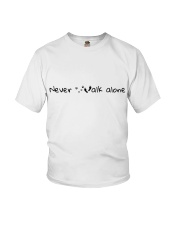 Never Walk Alone Youth T-Shirt tile