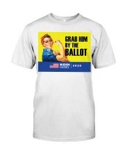 Anti Trump grab him by the ballot Biden Harris Classic T-Shirt thumbnail