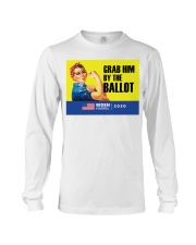 Anti Trump grab him by the ballot Biden Harris Long Sleeve Tee thumbnail