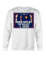 All skins grab him by the ballot yard sign Crewneck Sweatshirt thumbnail