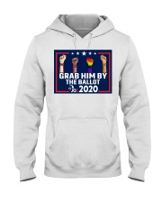 All skins grab him by the ballot yard sign Hooded Sweatshirt thumbnail
