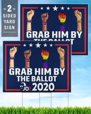 All skins grab him by the ballot yard sign 24x18 Yard Sign aos-yard-sign-24x18-lifestyle-front-32