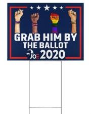 All skins grab him by the ballot yard sign 24x18 Yard Sign back